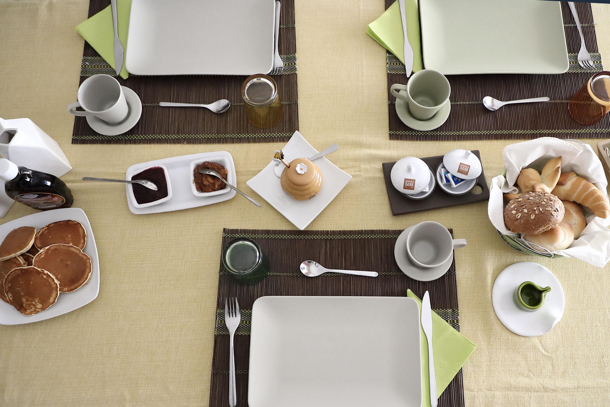 La colazione al B&B Le Stanze di Patika, Tortolì, Ogliastra
